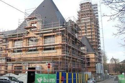 chantier maison communale