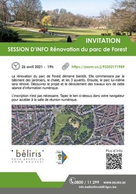 invitation parc forest FR