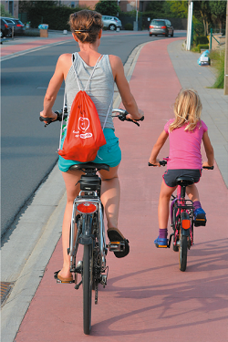 vélo parents-enfants