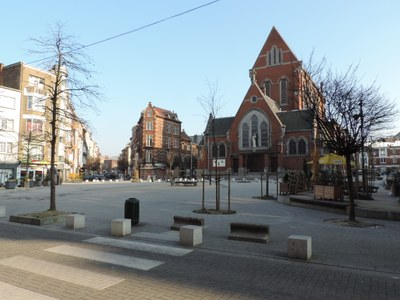 Place Saint-Antoine rénovée