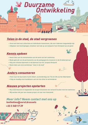 Affiche Duurzame ontwikkeling NL